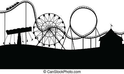 paisagem, carnaval
