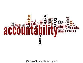 palavra, nuvem, accountability
