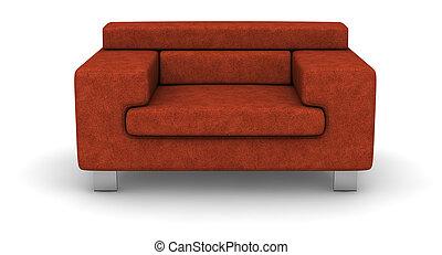 pano, sofá