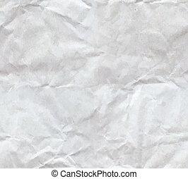 papel amarrotado, folha, seamless