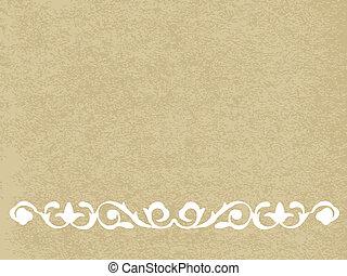 papel, antigas, textura