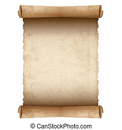 papel, antigas, vetorial, scroll