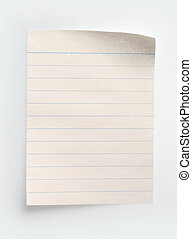 papel, caderno, alinhado