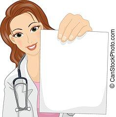 papel, doutor