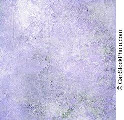 papel, roxo, grunge, textura