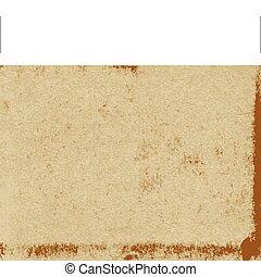 papel, vetorial, antigas, textura