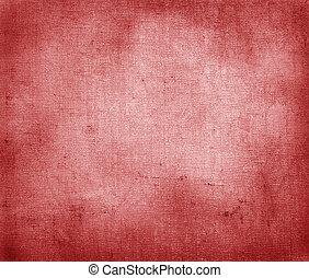 papel, vindima, vermelho, textura