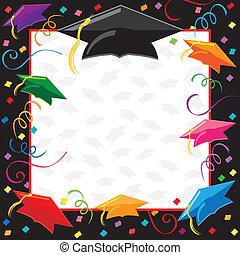 partido, graduação, convite