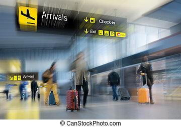 passageiros, linha aérea