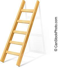 passo madeira, escada