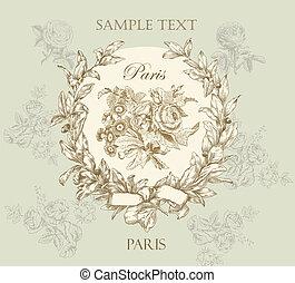 pastel, inteligência, rosa, etiqueta, suave, vetorial