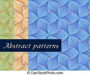 pattern., papel parede, seamless, vetorial