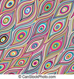 pattern., seamless, abstratos
