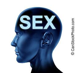 pensando, sexo