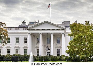 pensilvânia, casa, c.c. washington, ave, branca