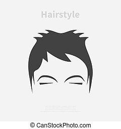 penteado, ícone