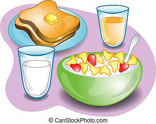 pequeno almoço, completo