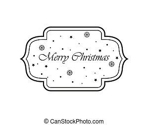 perfeitos, natal, etiquetas, convites, label., announcements., ou