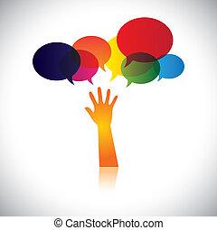 pessoa, também, conceito, angústia, ajuda, pessoas, este, amor, abstratos, procurar, vetorial, pedido, etc, ou, gráfico, ajuda, representa, cuidado, apoio, soccour, assistance.