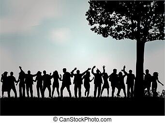 pessoas., grupo