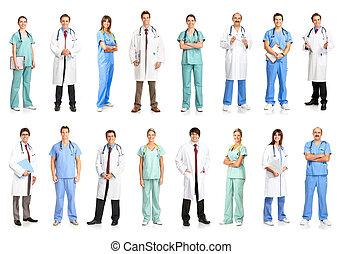 pessoas, médico