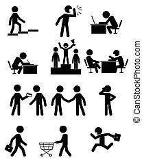 pessoas negócio