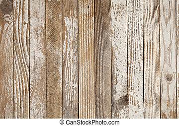 pintado, branca, madeira, antigas