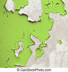 pintura descascando