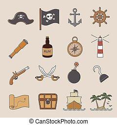 pirata, ícone