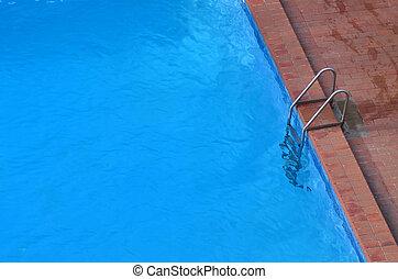 piscina, natação, hotel