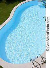 piscina, quintal