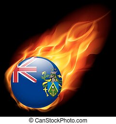 pitcairn, cores, bandeira, emblema, ilhas
