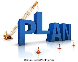 plano, desenvolvendo