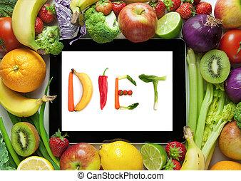plano, dieta, receitas