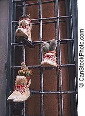 plantas, botas