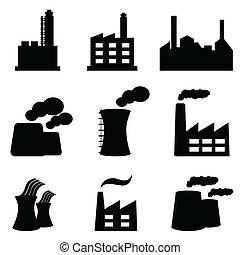 plantas, fábricas, poder