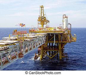 plataforma offshore, óleo