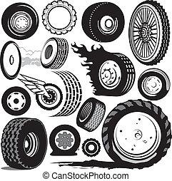 pneu, cobrança
