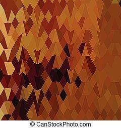 polígono, folhas, outono, baixo, fundo, abstratos