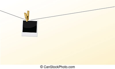 polaroid, correia, anexado