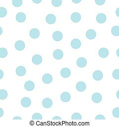 polca, padrão, dots., seamless