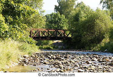 ponte, fluxo
