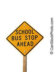 ponto ônibus, sinal