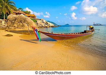 praia, bote