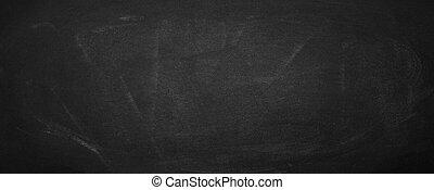 pretas, tábua, fundo, chalkboard, horizontais