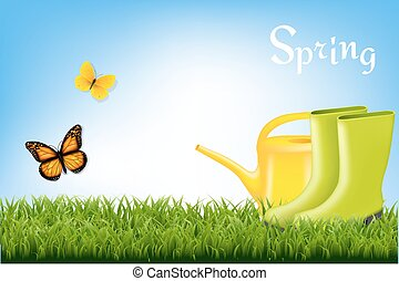 primavera, bandeira