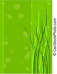primavera, experiência verde