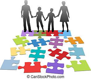 problema, conselho, relacionamento, família