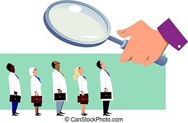 procurar, doutor