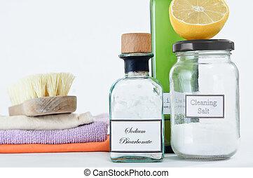 produtos, limpeza, non-toxic